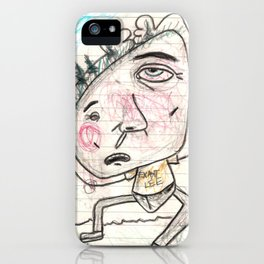 Itchy Head iPhone Case