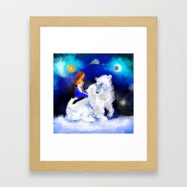 East O the Sun West O the Moon Framed Art Print