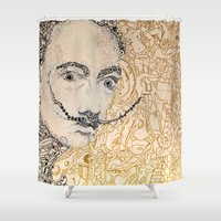 dali Shower Curtains featuring Dali by Gribouilliz