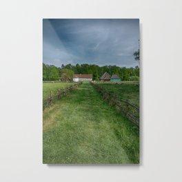 rural landscape Metal Print