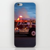 police iPhone & iPod Skins featuring Police Line by SShaw Photographic