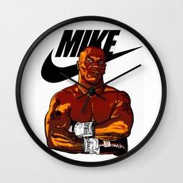 MIKE TYSON By La Brea Wall Clock