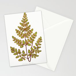 Edward Joseph Lowe - Cheilanthes Pteroides Stationery Cards