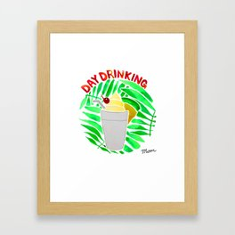 Day Drinking Framed Art Print