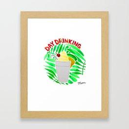 Day Drinking Framed Art Print