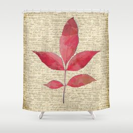 leaves. floral picture for home decor. Abstract Art. Wall art decorative 4 Shower Curtain