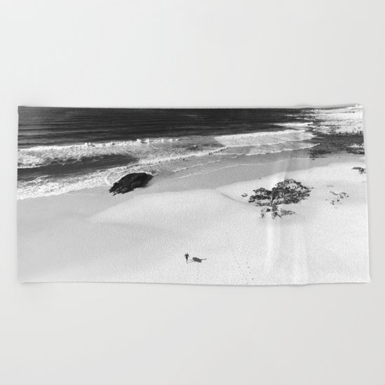 the surfer Beach Towel
