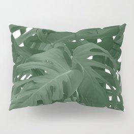 Monstera Jungle Paint Pillow Sham