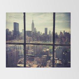 i love NY Throw Blanket