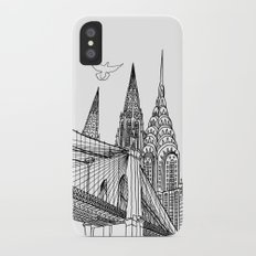 NYC Silhouettes iPhone X Slim Case