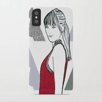 ysl iPhone & iPod Cases featuring Dakota by Kats Illustration