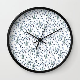 Let's Go Skiing! – Xmas Edition Wall Clock