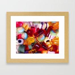 stickly sweet Framed Art Print
