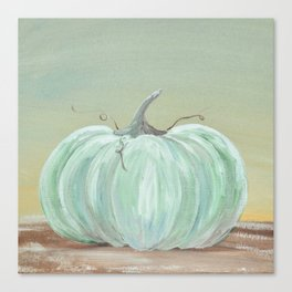 Ready for Fall Cinderella pumpkin Canvas Print