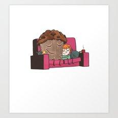 Comfort Food Art Print