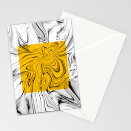 Color Pop Yellow Stationery Cards