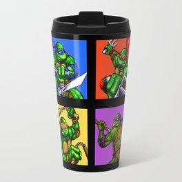 Turtle Pixel Travel Mug
