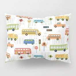 Bus Stop Pillow Sham