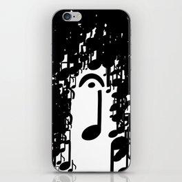 Musical Rain iPhone Skin