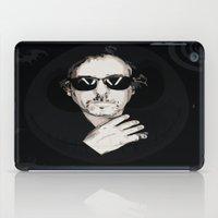 tim burton iPad Cases featuring TIM BURTON by Rocky Rock