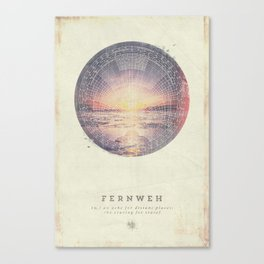 Fernweh Vol 5 Canvas Print