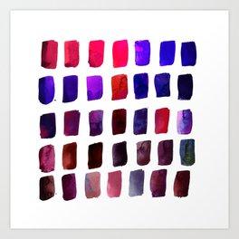 Brushstrokes 1zg by Kathy Morton Stanion Art Print