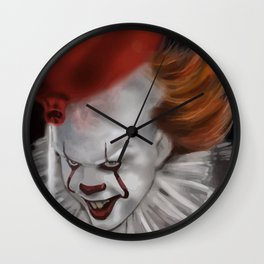 Balloon Pennywise Wall Clock