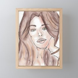 Chloe Framed Mini Art Print