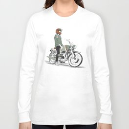 The Woman Rider Long Sleeve T-shirt