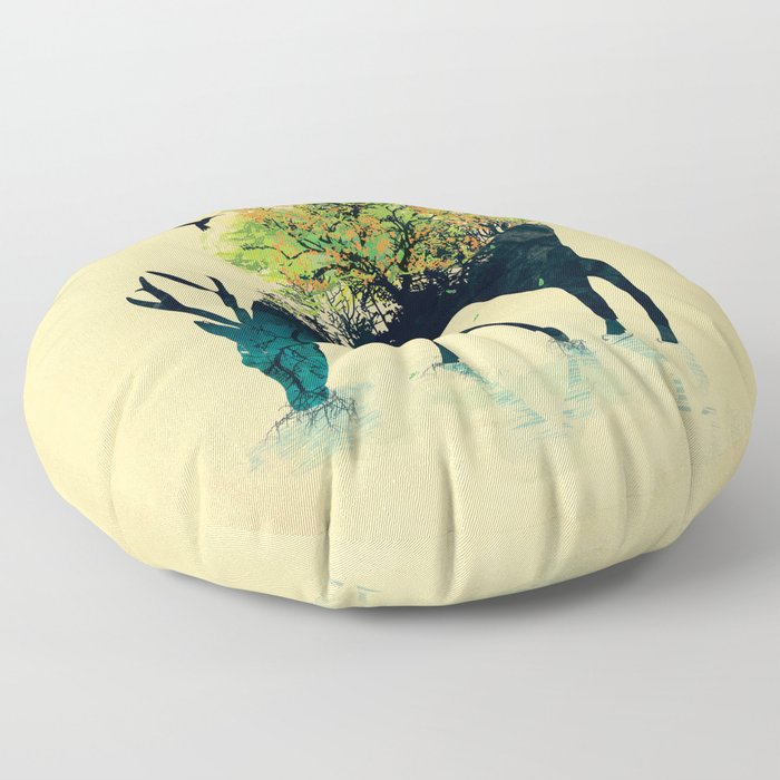 Watering (A Life Into Itself) Floor Pillow