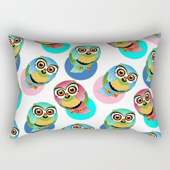 cute birds 2 Rectangular Pillow