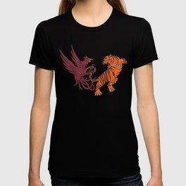 Cocks vs Tigers T-shirt