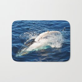 Whale hello there Bath Mat