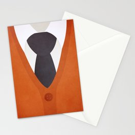 Cardigan Sweater and Tie Stationery Cards
