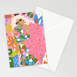 Living in Chaos Stationery Cards