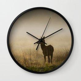 Richmond Park - 54, September 2015 Wall Clock