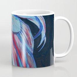 Male Siamese Fighting Fish Betta Splendens Coffee Mug