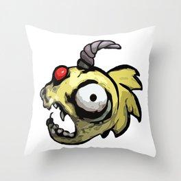 Feeshman Throw Pillow