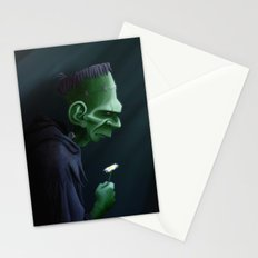 Frankenstein Remembers Stationery Cards
