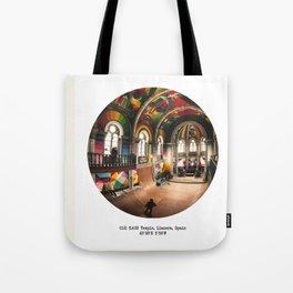 012: KAOS Temple, Spain Tote Bag