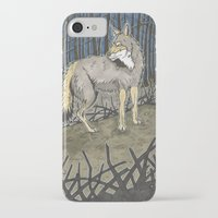 coyote iPhone & iPod Cases featuring Coyote by Lucan Joshua Jackson