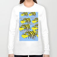 bees Long Sleeve T-shirts featuring Bees by David Abse
