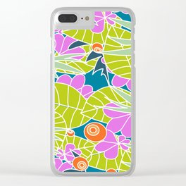 Lush Vegetation #society6 #buyart #decor Clear iPhone Case