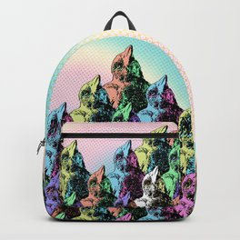 Contra Mundum Rainbow Magpies! Backpack