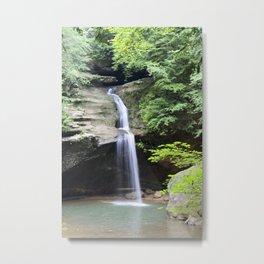 Waterfall in Hocking Hills 0615 Metal Print