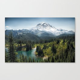Mountain, Scenic, Rainier, Eunice Lake, National Park, Parks 2016 Canvas Print