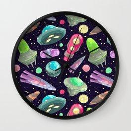 funny UFO Wall Clock