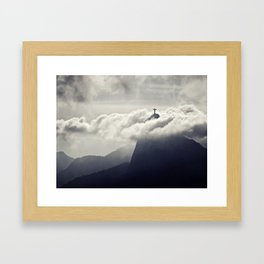 Cristo Redentor Framed Art Print