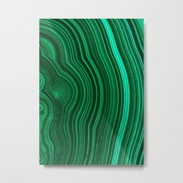 Malachite no. 2 Metal Print