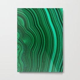 Malachite no. 2 Metal Print